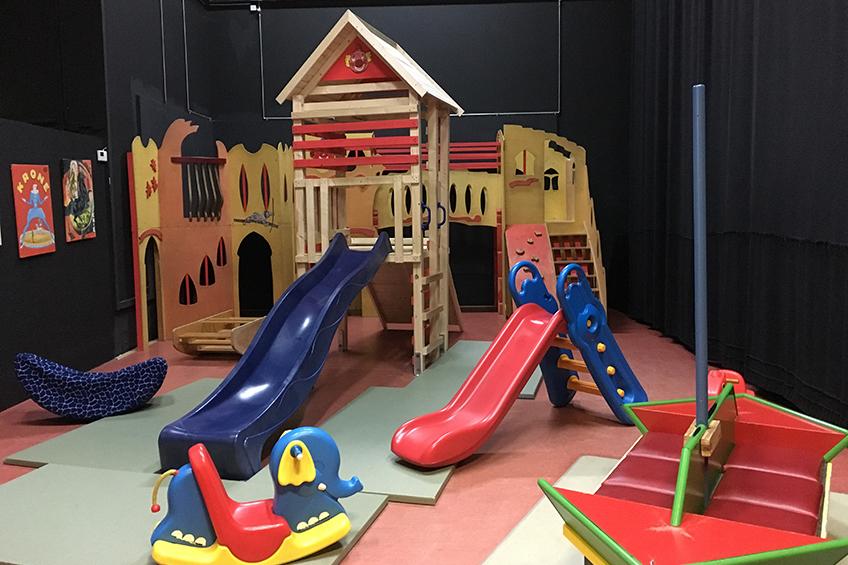 Spielecke in der Zirkusfabrik